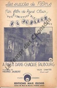 A Paris dans chaque faubourg