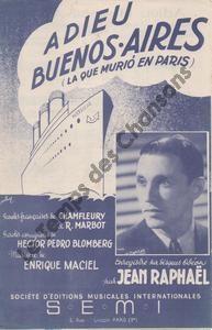Adieu Buenos-Aires