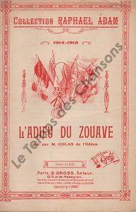 Adieu du Zouave (L')
