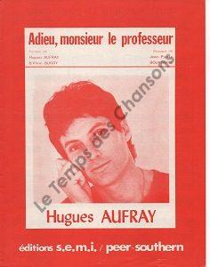 Adieu, monsieur le professeur