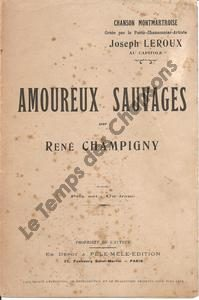 Amoureux sauvages