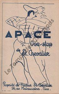Apace