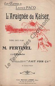 Araignée du kaiser (L')