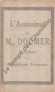 Assassinat de M. Doumer (L')