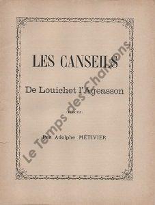 Canseils de Louichet l'Ageasson (Les)