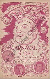 Carnaval a dit …