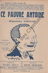 Ce pauvre Antoine