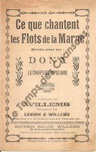 Ce que chantent les flots de la Marne