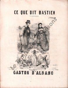 Ce que dit Bastien