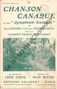 Chanson canaque