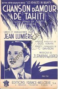 Chanson d'amour de Tahiti