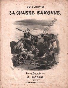 Chasse saxonne (La)