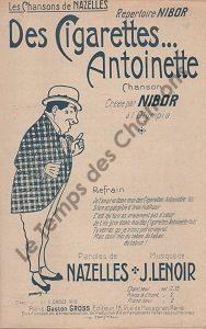 Des cigarettes Antoinette …