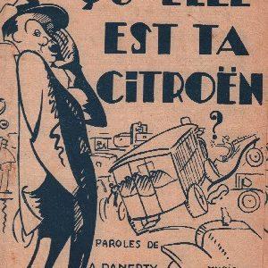 Comment qu'elle est ta Citroën ?
