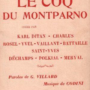Coq du Montparno ( Le)