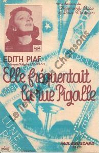 Elle fréquentait la rue Pigalle