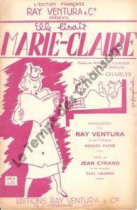 Elle lisait Marie-Claire