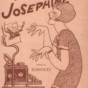 Ell' tapait à la machine, Joséphine !
