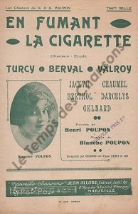 En fumant la cigarette