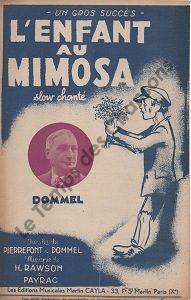 Enfant au Mimosa (L')