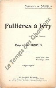 Fallières à Ivry