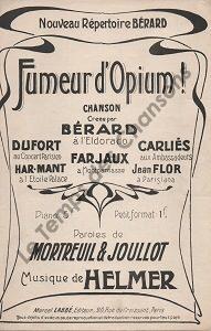 Fumeur d'Opium !