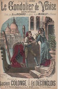 Gondolier de Venise (Le)