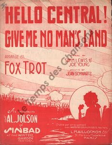Hello central, give me no man's land