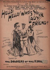 Hello ! Hello ! Who's your Lady friend ?