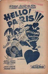 Hello ! Paris !!!