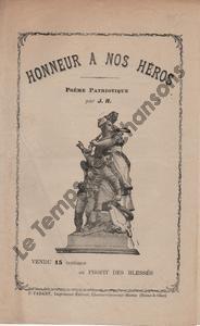 Honneur à nos héros