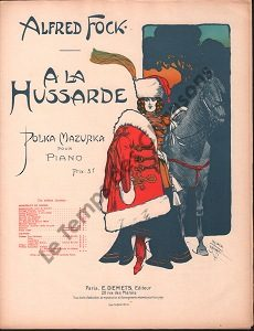 A la Hussarde
