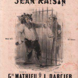 Chanson de Jean raisin (La)