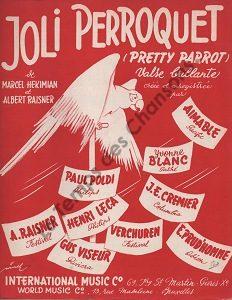 Joli perroquet