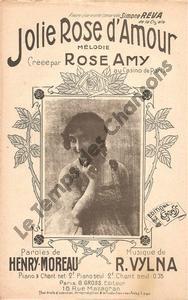 Jolie rose d'amour