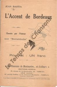Accent de Bordeaux (L')