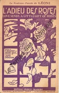 Adieu des roses (L')