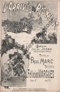 Arrivée du régiment (L')