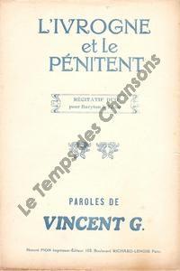 Ivrogne et le pénitent (L')
