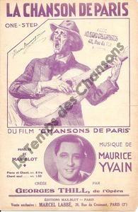 Chanson de Paris (La)