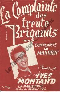 Complainte des trente brigands (La)