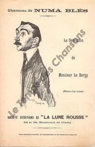 Démission de Monsieur Le Bargy (La)