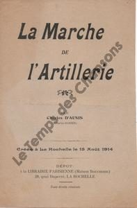 Marche de l'artillerie (La)
