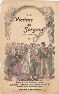 Victime du sergent (La)
