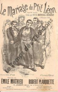 Mariage du petit Léon (Le)