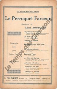 Perroquet farceur (Le)