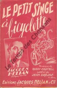 Petit singe à bicyclette  (Le)