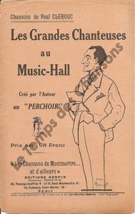 Grandes chanteuses au Music-Hall (Les)