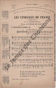Vendanges de France (Les)