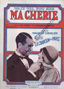 Wait' til you see «Ma chérie»
